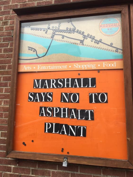 Marshall Alderman approve Resolution against the Asphalt Plant