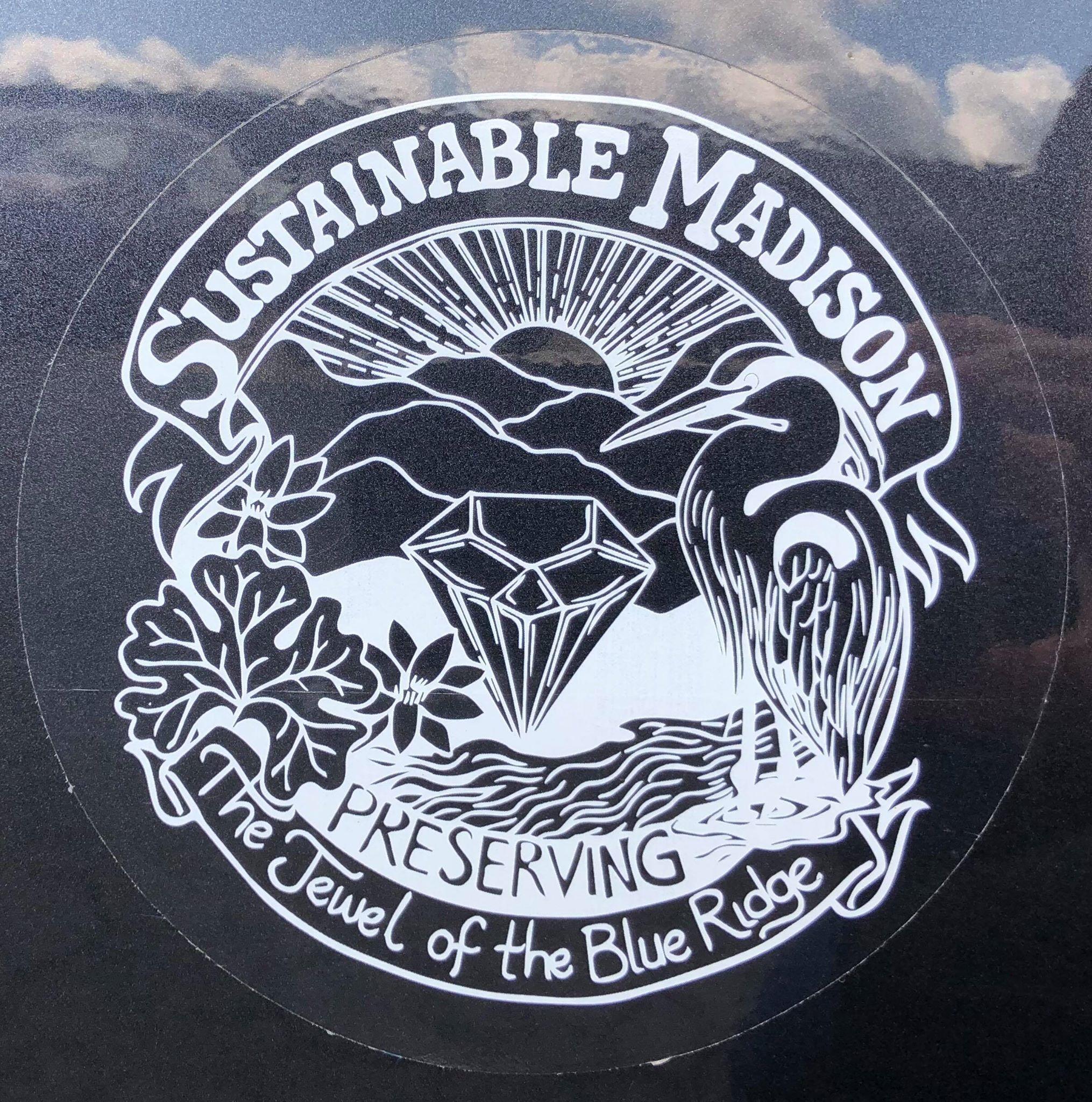 Sustainable Madison Window Sticker